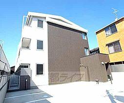 京都府京都市南区東九条松田町の賃貸アパートの外観