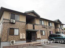 愛知県岡崎市鴨田町の賃貸アパートの外観