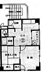 イガラシビル[5階]の間取り