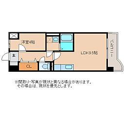 静岡県静岡市清水区千歳町の賃貸マンションの間取り