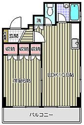 グランフォーレ大井[3階]の間取り
