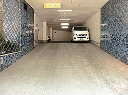 千代田区五番町の機械式駐車場