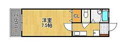 MOON江南町[2階]の間取り