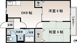 センティアムコースト1階Fの間取り画像