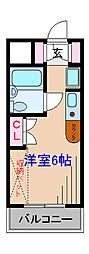 ベルトピア日吉II[3階]の間取り