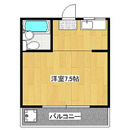 脇坂コーポ[4階]の間取り