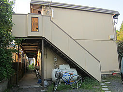 東京都府中市四谷2丁目の賃貸アパートの外観