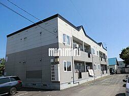 北海道札幌市北区屯田三条1丁目の賃貸アパートの外観