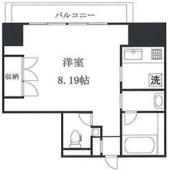 東麻布アパートメント[4階]の間取り