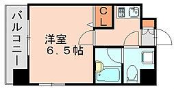 ラフォーレ博多[9階]の間取り