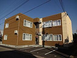 北海道旭川市豊岡二条6丁目の賃貸アパートの外観