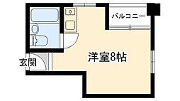 グローバル武庫川学院前[203号室]の間取り