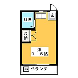 【敷金礼金0円!】コーポ長屋