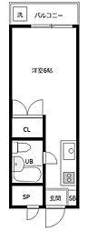 グリーンハイム桜塚[1階]の間取り