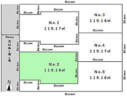 土地(大泉学園駅からバス利用、119.18m²、3,780万円)
