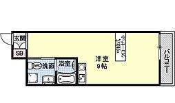 G-Design京都西院[206号室号室]の間取り
