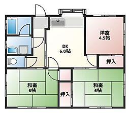 [一戸建] 静岡県沼津市大岡 の賃貸【/】の間取り