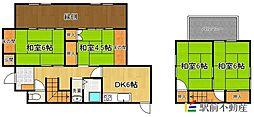 [一戸建] 福岡県太宰府市朱雀2丁目 の賃貸【/】の間取り