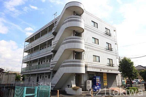 埼玉県志木市中宗岡2丁目の賃貸マンションの外観