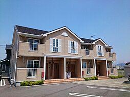 香川県丸亀市中津町の賃貸アパートの外観