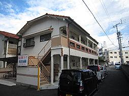 愛媛県松山市束本2丁目の賃貸アパートの外観