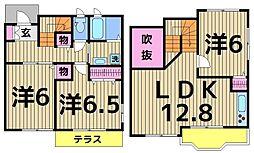 [一戸建] 東京都足立区千住元町 の賃貸【/】の間取り