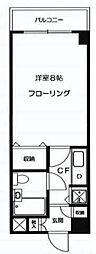 ピュアシティ横浜II[2階]の間取り