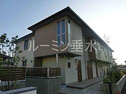 シャーメゾン平田[1階]の外観