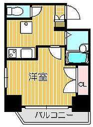ヴェローナ戸越銀座[4階]の間取り