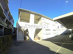 大阪府池田市鉢塚3丁目の賃貸アパートの外観