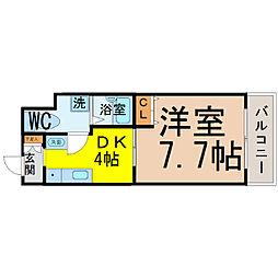 T's Dream名駅(ティーズドリーム名駅)[303号室]の間取り