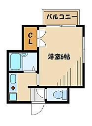 パル新百合[1階]の間取り