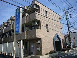 東京都青梅市東青梅5丁目の賃貸マンションの外観