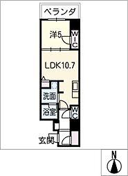 ダイワシティ大須[2階]の間取り