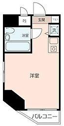 横須賀中央ダイカンプラザシティII[601号室]の間取り