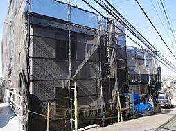 神奈川県横浜市港南区上大岡東1の賃貸アパートの外観