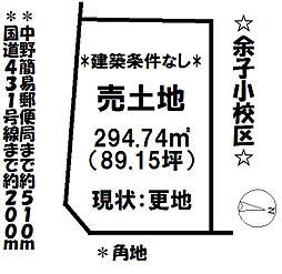 中野町 売土地