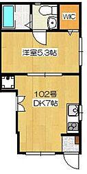 LEA OHANA[1階]の間取り