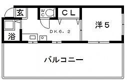 第3田辺マンション[3階]の間取り