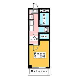 原田ビル[3階]の間取り