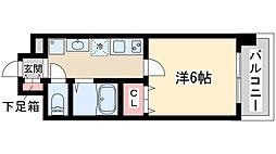 プレミアムステージ新大阪駅前2 9階1Kの間取り