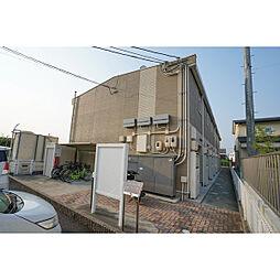 岡山県岡山市中区今在家の賃貸アパートの外観