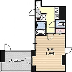 サムティ京都駅前[703号室号室]の間取り