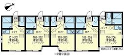 横浜オリヴェイラ[2階]の間取り