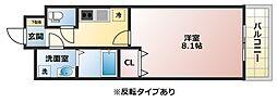 パーク賀永[3階]の間取り