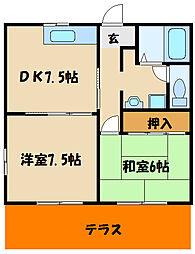 ディアス965[2階]の間取り