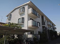 大阪府八尾市山城町3丁目の賃貸マンションの外観