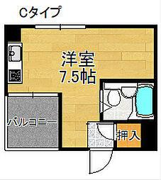 マンションピジョン[3階]の間取り