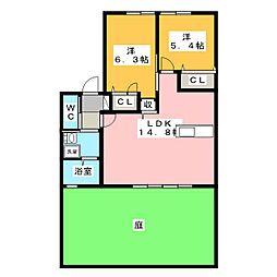 徳重駅 7.4万円