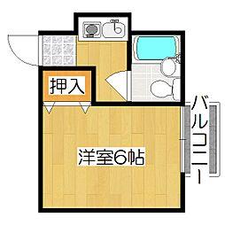 ピノハウス[2階]の間取り